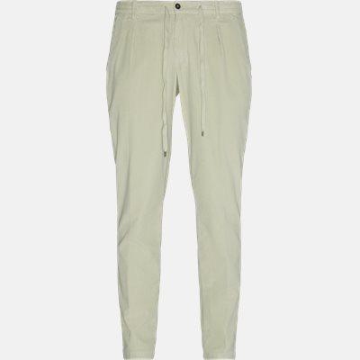 Regular | Trousers | White